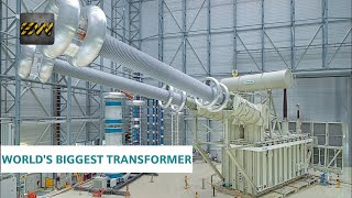 World's Biggest Electrical Transformer [With voltage upto 1100kV]