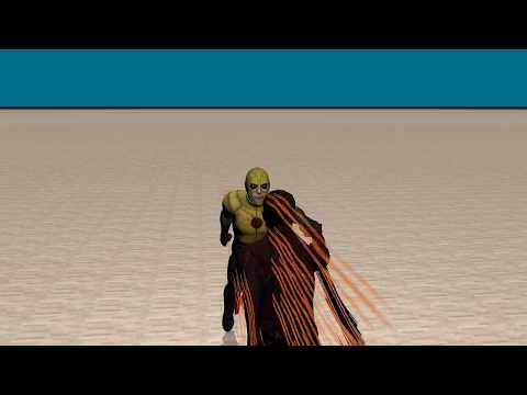 My CGI BETA Test Flash vs RF (Cinema 4D)