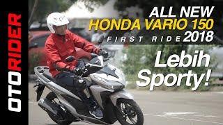 All New Honda Vario 150 2018 First Ride Indonesia | OtoRider