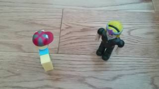 ROBLOX Stop Motion Fight (Bad, Very Bad)