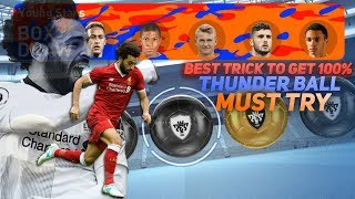Omg! 100k box draw || young stars ||best trick to get thunderball || captain boomerang