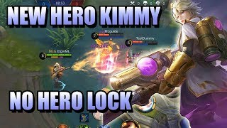 KIMMY NEW HERO MOBILE LEGENDS - NO AUTO ATTACK MARKSMAN