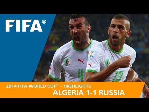 ALGERIA v RUSSIA (1:1) - 2014 FIFA World Cup™