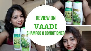 Vaadi Herbals heena shampoo & Vaadi Herbals olive oil conditioner review