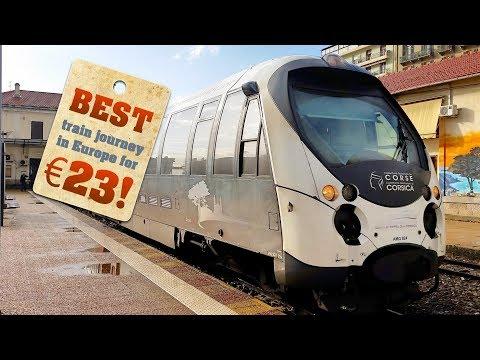 Best Train Journeys In Europe: Corsica, From Ajaccio To Corte Trip Report