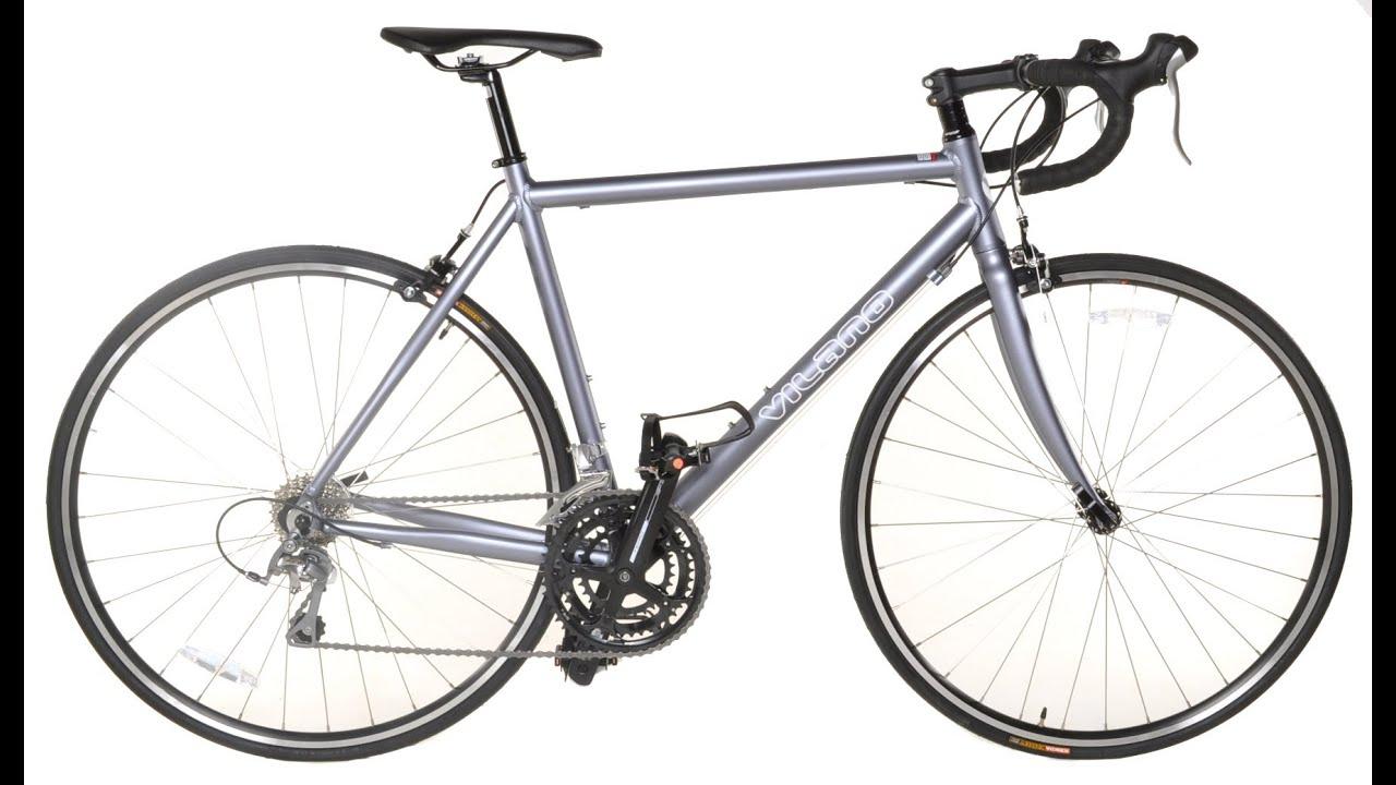 Vilano Forza 2 0 Aluminum Carbon Road Bike Youtube