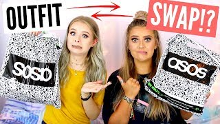 One of sophdoesnails's most viewed videos: BUYING EACHOTHER'S OUTFITS!! (TRY ON) STYLE SWAP CHALLENGE WITH EMMA | sophdoesnails