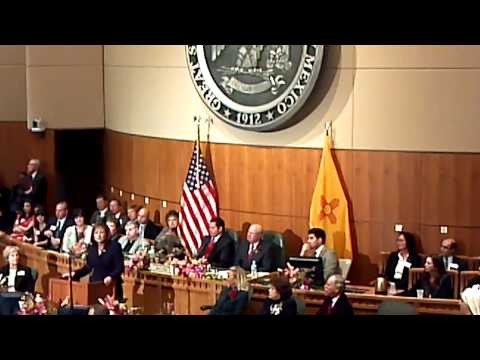 Gov. Martinez Fails On Water, Climate in 2015 State of the State (1/20/2015) [1/2]