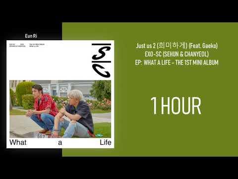 [1 시간 / 1 HOUR LOOP] EXO - SC (SEHUN & CHANYEOL) - JUST US 2 (있어 희미하게) (Feat. Gaeko)