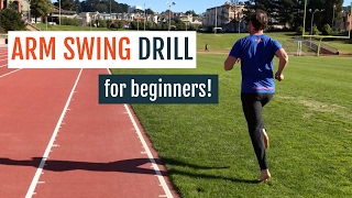 Arm Swing Drill For Better Beginner Running Form