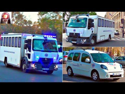 Convoi de l'Administration Pénitentiaire + Gendarmerie // French Prisoner Transport Compilation