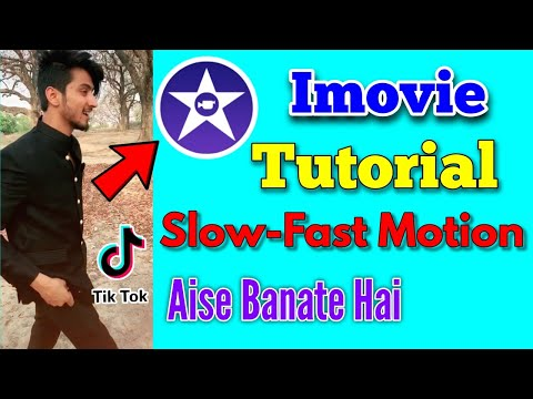 How To Make Slow Motion In Imovie | Tik Tok Slow - Fast Motion Video |