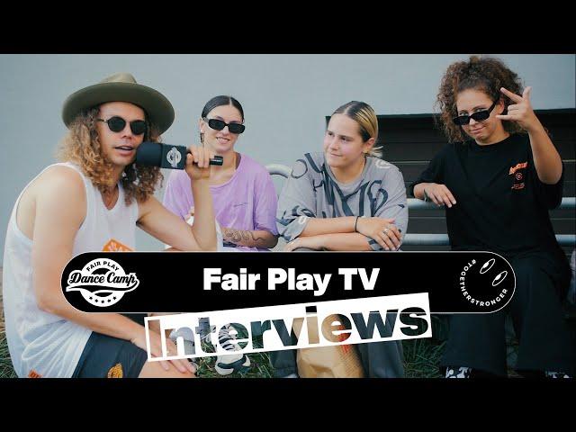 Fair Play Dance Camp 2021 | Interviews by Karol Niecikowski [FAIR PLAY TV]