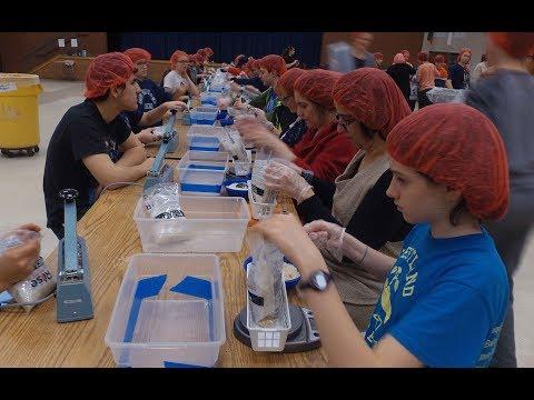 Westland MS Volunteers Fight Worldwide Hunger