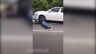 В Ялте жених с невестой насмерть разбились на мотоцикле, не дожив до свадьбы. ВИДЕО