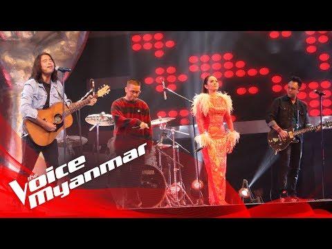 Lynn Lynn, Yan Yan Chan, Ni Ni Khin Zaw And Kyar Pauk - Coaches Perform! - The Voice Myanmar