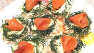 Бутерброды с красной рыбой - вкусная закуска