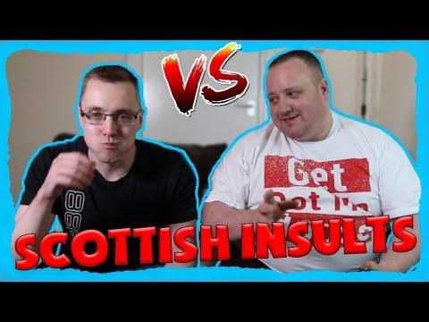 A Scottish Insults Challenge || Batchy vs Gary