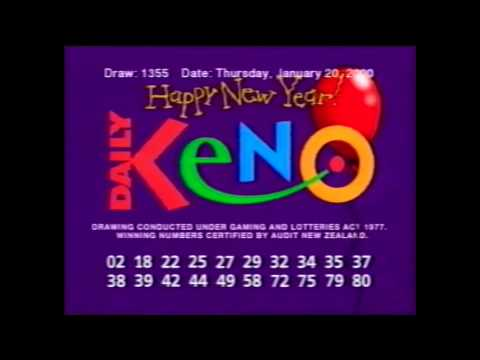 Keno Daily Winning Numbers Ma