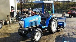 Обзор, Японский мини трактор Iseki Sial 23, японская спецтехника от Kotamoto.
