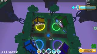 Raised a lot of Lava Roblox Flora Frenzy game #4