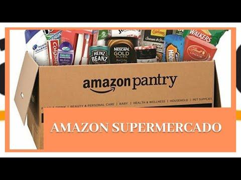 Supermercado amazon y la dichosa caja pantry