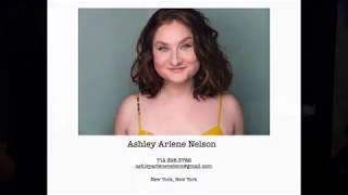 Theatrical Reel- Ashley Arlene Nelson