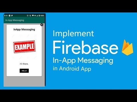 How To: Implement Firebase InApp Messaging in Android App