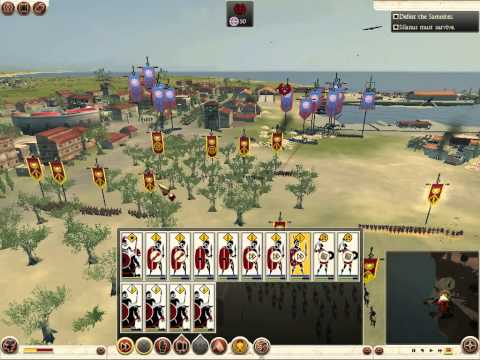 Rome Total War 2 battle for Salernum |