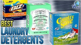 10 Best Laundry Detergents 2018