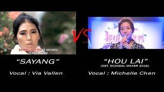 Sayang - Via Vallen VS Michelle Chen (mirip nggak?)