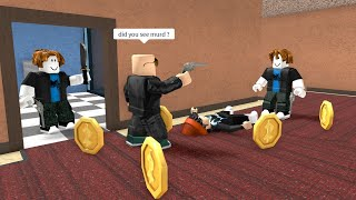 ROBLOX Murder Mystery 2 Funny Moments (RED)