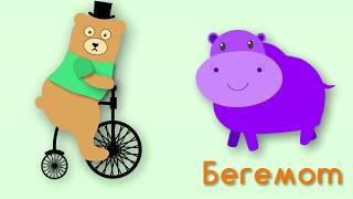 Животные из джунглей Мишка Топа Веселые песенки для детей