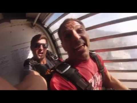 Chris Devlin 1st Sky Dive