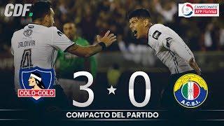 Colo Colo 3  - 0 Audax Italiano | Campeonato AFP PlanVital 2019 | Fecha 14 | CDF