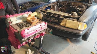 PINK in the STINK   Sh!thorse 6.0 LS Engine Install + 2 NEW Channel Projects (possibly)