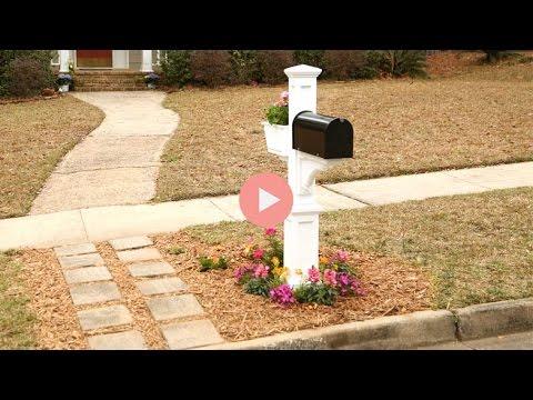 Create a Garden Around Your Mailbox