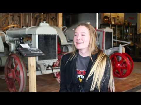 UNL student discovers niche in restoring antique tractors