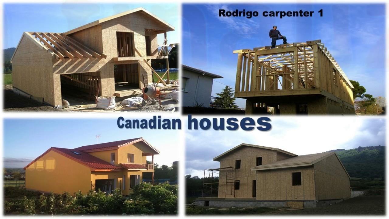 Construcci n de casa americana en espa a youtube - Casas americanas en espana ...