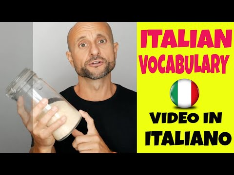 Learn Italian Vocabulary: 10 Household Items [Video in Italiano]  [LIVE]