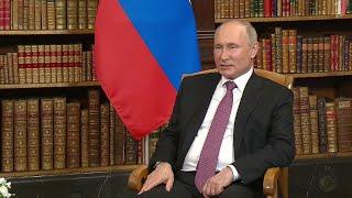 В эти минуты в Женеве на вилле Ла Гранж идут переговоры Владимира Путина и Джо Байдена.