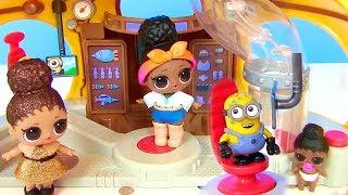 Ляльки Лол Сюрприз! Фабрика Міньйонів де роблять Lol Surprise Мультик з іграшками