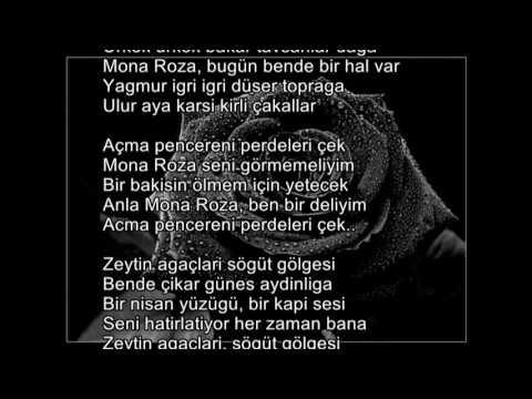 Sezai Karakoç - Mona Roza şiiri ve hikayesi