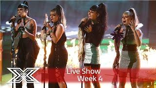 Spooky! Four of Diamonds perform Ella Henderson's Ghost | Live Shows Week 4 | The X Factor UK 2016