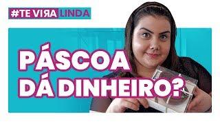 PEGUEI CARONA COM DESCONHECIDA PRA ECONOMIZAR: o que fiz pra ganhar dinheiro na Páscoa #Teviralinda