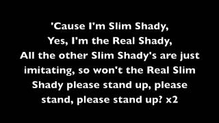 The Real Slim Shady - Eminem [Lyrics]