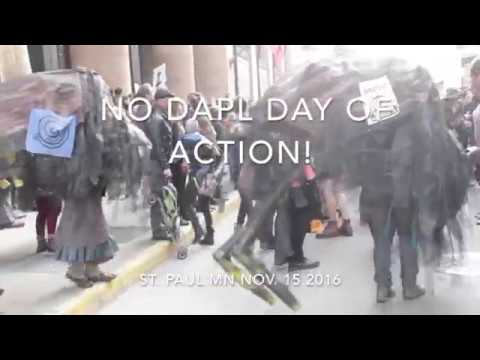 ACTION DAY NODAPL ST. PAUL NOV. 15TH 2016