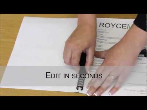 How To Bind Documents Without A Binding Machine - Royce Martin