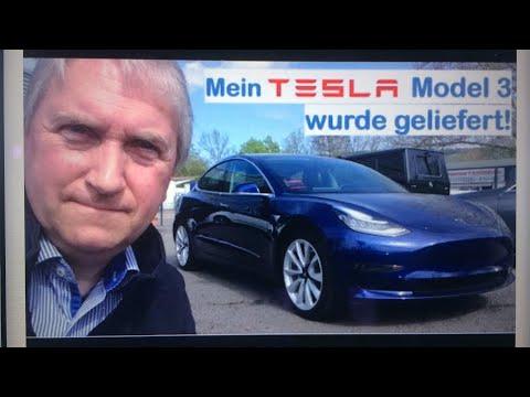 Mein Tesla Model 3 wurde geliefert (Zeitsprung) - gelöscht...