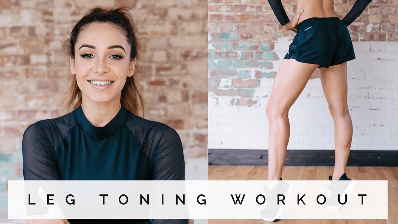 LEG TONING EXERCISES | LEAN NOT BULK | Danielle Peazer